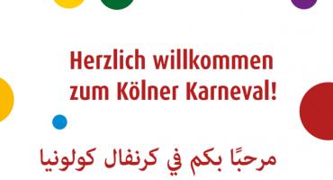 Kölner Festkomitee lädt Flüchtlinge zum Karneval ein