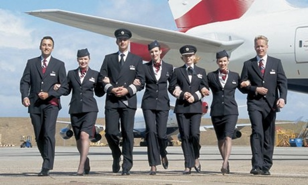 British Airways-Crew in 2004