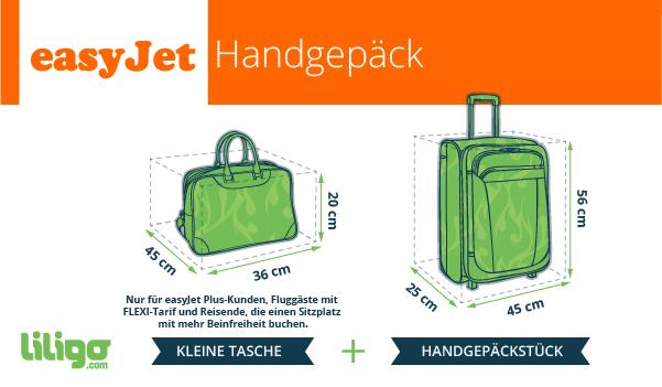 Gepäck Bei Easyjet Preise Gewicht Dimensionen Reisemagazin