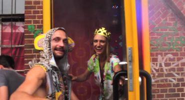 Abfeiern in der kleinsten Disko der Welt