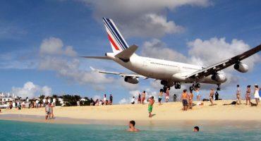 Video: Spektakuläre Landung in Zeitlupe
