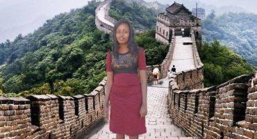 Frau photoshoppt sich in Reisefotos,  bekommt Reise geschenkt