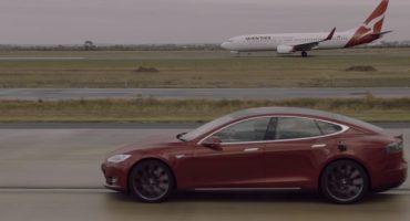 Elektroauto vs. Flugzeug
