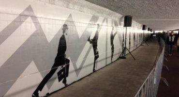 """Eindhoven eröffnet """"Silly Walk""""-Tunnel"""