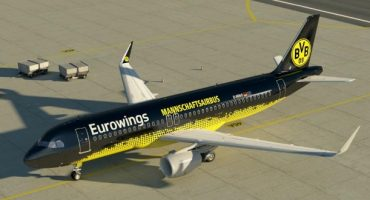 Eurowings wird offizielle Airline des BVB