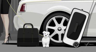 Der Rolls-Royce unter Koffern