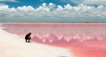 Yucatán: Rosa Lagune wird zum Instagram-Hit
