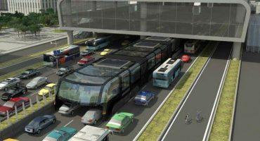 "Innovativer Nahverkehr: China testet ""Überfahrtsbus"""
