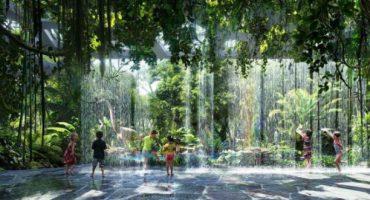 Dubaier Luxushotel lockt mit künstlich angelegtem Regenwald in luftiger Höhe