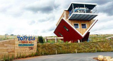 Toppels – Bei Wertheim steht ein ganzes Haus Kopf