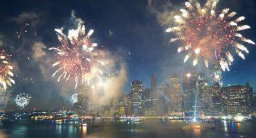 Das waren die atemberaubendsten Neujahrsfeuerwerke 2016/2017