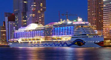 Kreuzfahrtschiff AIDA Prima: Unerhöht hohe Abgaswerte gemessen
