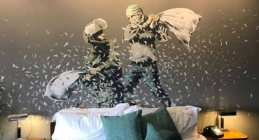 """""""Die schlimmste Aussicht der Welt"""" – Banksy eröffnet Hotel in Bethlehem"""