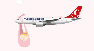 Turkish Airlines: Geburt auf 13.000 Meter Höhe